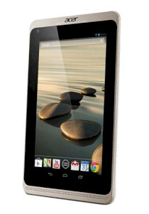 Acer Iconia B1-721 (Dual-Core 1.3GHz, 1GB RAM, 16GB Flash Driver, 7 inch, Android OS v4.2) WiFi, 3G Model White