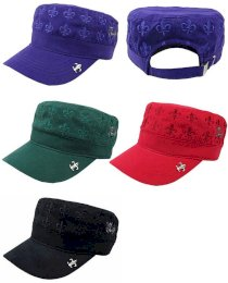 Dance With Dragon DWD 2013 Fall & Winter Flare Pattern De Gaulle Cap