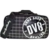 DV8 Double Tote Black/White Bowling Bag