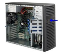Supermicro SuperChassis CSE-732i-865B Black Mid-Tower