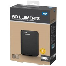 Western Digital Elements Portable 1TB USB 3.0 (WDBUZG0010BBK)