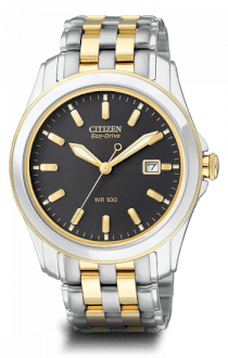 Citizen Men's Eco Drive Two Tone Stainless Steel