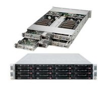 "Server Supermicro SuperServer 6027TR-H71FRF (SYS-6027TR-H71FRF) (Intel Xeon E5-2600, RAM Up to 512GB ECC, HDD 3x Hot-swap 3.5"" SATA3/SAS2, 1620W)"