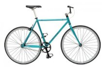 Critical Cycles Fixed-Gear Single-Speed Bicycle - Celeste Slv