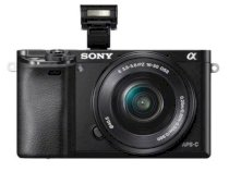 Sony Alpha A6000 (ILCE-6000L/B) (E 16-50mm F3.5-5.6 OSS) Lens Kit Black