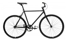 Critical Cycles Fixed-Gear Single-Speed Bicycle - Matte Black
