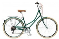 Critical Cycles Step-Thru Urban Commuter Bicycle British Racing Green 7 speed
