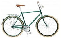 Critical Cycles Urban Commuter Bicycle - British Racing Green Single Speed