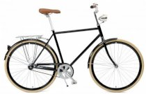 Critical Cycles Diamond Frame Urban Commuter Bicycle Single Speed BLACK