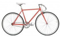 Critical Cycles Fixed-Gear Single-Speed Pista Bicycle - Coral