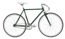 Critical Cycles Fixed-Gear Single-Speed Pista Bicycle - Green
