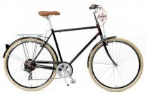 Critical Cycles Diamond Frame Urban Commuter Bicycle Seven Gears CREAM