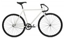 Critical Cycles Fixed-Gear Single-Speed Pista Bicycle - White