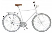 Critical Cycles Diamond Frame Urban Commuter Bicycle - Single Speed