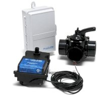 Goldline Controls GLC-2P-B Solar Pool Controller GL-235 Kit with 2in. x 2-1/2in. 2-Way Valve, Actuator, PC and SC1/4 Sensors