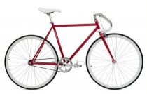 Critical Cycles Fixed-Gear Single-Speed Pista Bicycle - Crimson