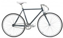 Critical Cycles Fixed-Gear Single-Speed Pista Bicycle - Slate Gray