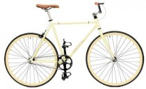 Critical Cycles Fixed-Gear Single-Speed Bicycle - Tan