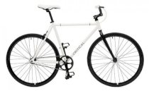 Critical Cycles Fixed-Gear Single-Speed Bicycle - White