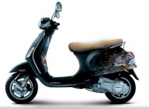 Dán decal xe Vespa Lx Black New 95