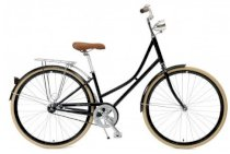Critical Cycles Step-Thru Urban Commuter Bicycle Single Speed BLACK