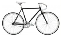 Critical Cycles Fixed-Gear Single-Speed Pista Bicycle - Black