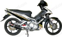 Dán decal xe Exciter Playboy