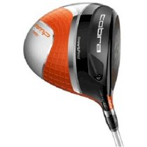 Cobra AMP Cell Pro Orange Driver Adjustable Loft Used Golf Club