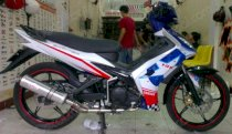 Dán decal xe Exciter Ducati Star