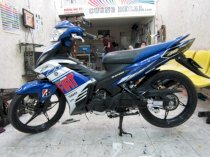 Dán decal xe Exciter Yamaha Fiat