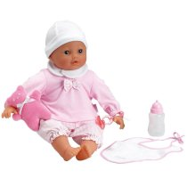 Lila Interactive Crying Baby Doll