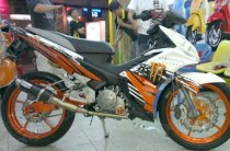 Dán decal xe Exciter Monster Full Option