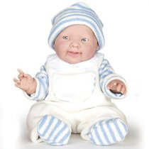 14 inch Real Boy Doll - Winter Lucas - Blue Outfit