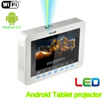 Tablet Smart Projector-MOV198M (LCD, 100 Ansi Lumens, 1000:1, 1024 x 600)