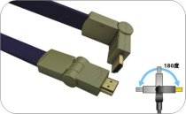 Flat HDMI Cable 1.5 - 15m 180°