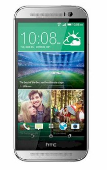 HTC One (M8) (HTC M8/ HTC One 2014) 32GB Silver EMEA Version