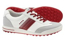 ECCO Men's Golf Street Sport Shoes - White/Concrete/Brick