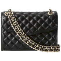Rebecca Minkoff Quilted Mini Affair Cross-Body Bag (Rose Gold Hardware)