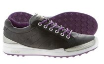 ECCO Men's BIOM GOLF Hybrid Shoes - Black/Imperial Purple
