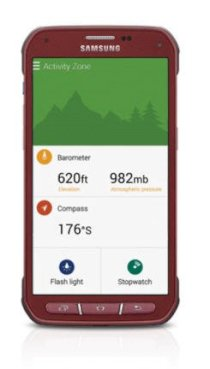 Điện thoại Samsung Galaxy S5 Active Ruby Red