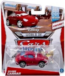 2013 Disney World of Cars Magen Carrar Chase* 1:55 Scale - Allinol Blowout Series 2 of 9