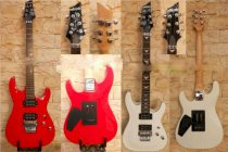 Electric guitar Adonis TME380 Red & White
