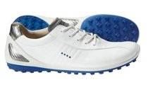 ECCO Men's Biom Zero Golfsmith Exclusive Golf Shoes - White/Royal