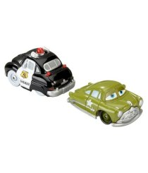 Mattel Disney Mini Adventures Race Rods Ramone and Sheriff Car