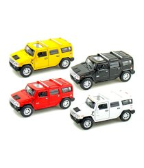 Kinsmart Diecast 1:40 Scale Set Of 4 Pieces 2008 Hummer H2 SUV
