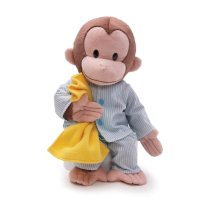 "Gund Curious George Dressed in Pajamas 16"" Plush"