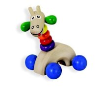 Eco-Giraffe with Bell and Rattles