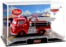 Disney / Pixar Cars Movie Exclusive 1:48 Die Cast Car In Plastic Case Red (Chase Edition)