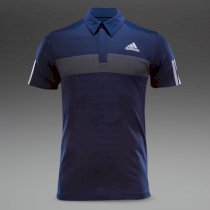 Adidas Andy Murray Barricade Polo - Collegiate Navy