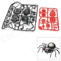 DIY ABS Salt Water 8-Foot Spider w/ Assembly Part - Black + Red
